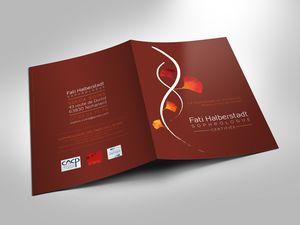 Création des logo, cartes de visite, plaquette et dépliant