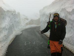 Point météo dans les Pyrénées (photos)