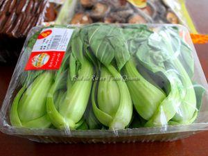 Baozi aux légumes / Shūcài bāozi 蔬菜包子