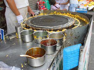 Carnets de Chine : Jiān Bǐng 煎餅, Star du petit-déjeuner Shanghaien