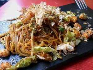 Ko-Ishi, Okonomiyaki et Takoyaki