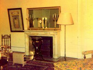 La chambre jaune du château de 1941 à 1996