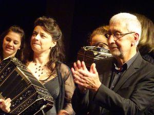 Concert de Tango - Théâtre des Variétés - Monaco Christiane Bonnay - Juan-Jose Mosalini - Yvette Hahn - Cyril Garac et les élèves ©Théodore Charles/un-culte-d-art.overblog.com