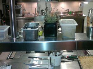 nella prima foto lo chef Riccardo Antoniolo.