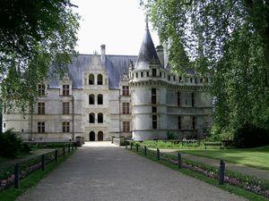 Le jardin romantique d'Azay-le-Rideau : la naissance d'un parc à l'anglaise