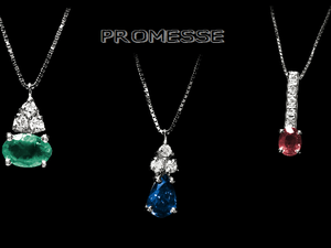 Promesse Gioielli: diamanti colore e perle