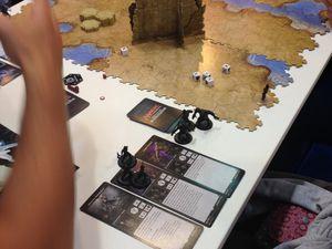 les classiques ! Risk en version moyen age (si c'est nouveau !) et magic the gathering avec des figurines..oui encore des figurines