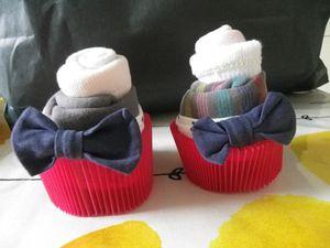 Bodys &amp&#x3B; socks cupcakes ou Giulia's Cupcakes