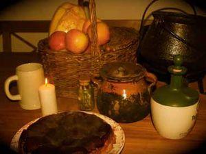 L'étape où le cuistot se sert un petit vin chaud est essentielle pour réussir cette tarte &#x3B;)
