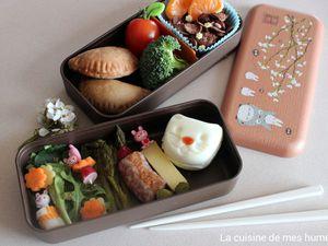 Bento de printemps, un petit lunch kawaii rien que pour soi