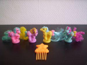 les fameux petites Ponies, et sous blister, Set B, Canada, 1990.