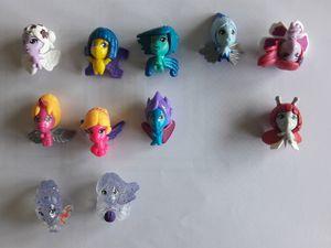 Voici ma collection complète, une de chaque (36 en tout) en classique ou fluo + des pailletées.