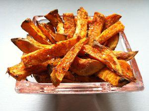 Frites de Patate Douce au four - sans gluten