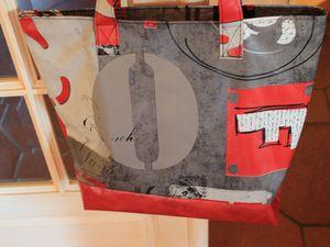 Nouveau tissu : sac et pochette