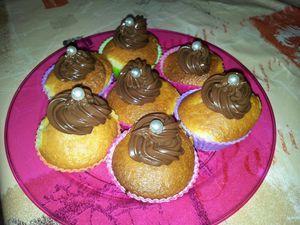 Mini cupcakes au philadelphia Milka
