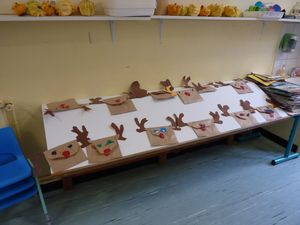 Our reindeers biscuits bags