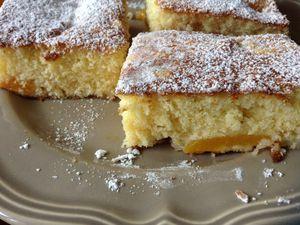Gâteaux aux abricot