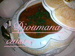 Chorba frik (Soupe Algérienne) Pour ramadan 2014
