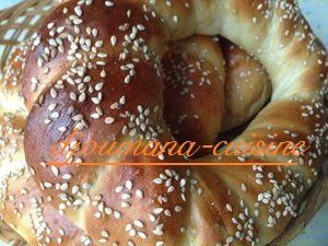 Pain turque &quot&#x3B;simit&quot&#x3B;