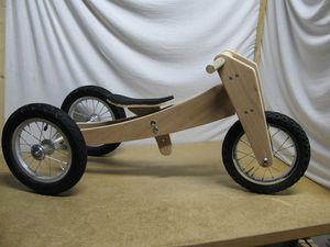 Le trike-Bike en position tricycle
