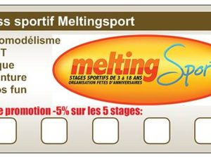 Pass sportif Meltingsport