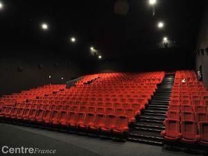 le nouveau cinéma : cinémazarin extérieur et intérieur