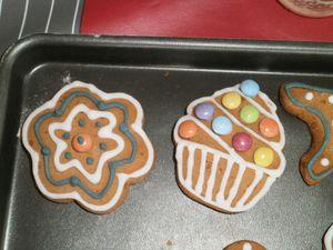 Petits gâteaux en pain d'épices