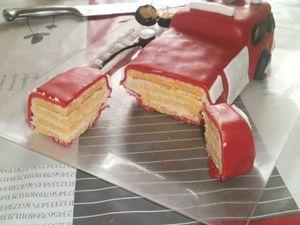Gâteau &quot&#x3B;Sam le pompier&quot&#x3B;