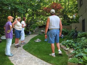 Master Gardeners are working on the final touches before the 2013 Garden Walk on Saturday!