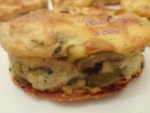Muffins pomme de terre