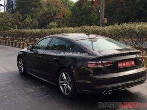 L'Audi A5 Sportback se dévoile un peu plus!