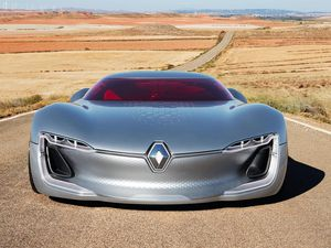Renault Trezor...plus beau concept car de 2016!