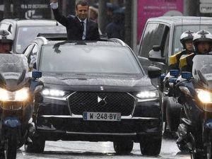 DS7 Crossback...Macron a choisi son véhicule présidentiel!
