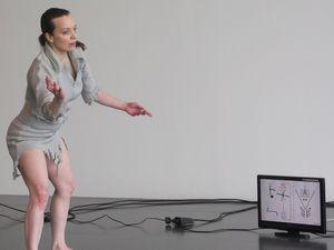 Performance: L'Innommée, le samedi 6 avril 2013, au Centre Pompidou Metz, en Galerie 3.