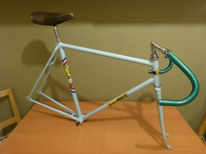 Jacques Anquetil track bike