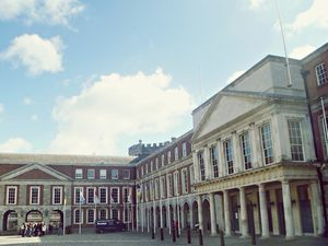 Now a major Irish government complex. Dublin Castle