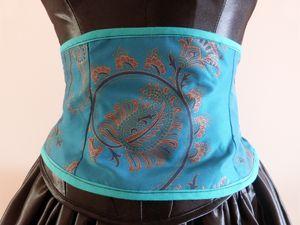 Récup tissu : ceinture &amp&#x3B; gilet
