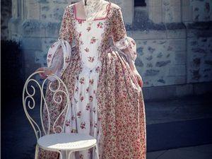 Costume &quot&#x3B;Dame de la cour&quot&#x3B;
