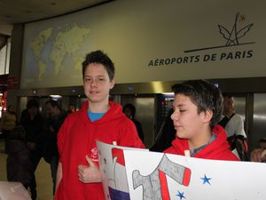 ILS SONT ARRIVES ! Welcome to France !
