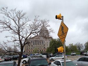 Les indiens, le pétrol, le froid... Et le Oklahoma State Capitol