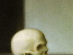 Gerhard Richter.1983.Schädel skull.huile sur toile55x50cm