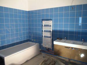 Salle de bain - appartement gardiens      /       Toilettes - espace communautaire des prêtres