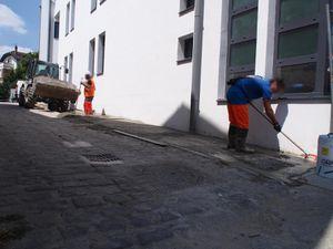 17 juin : Le 17bis se dote d'un trottoir