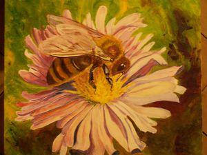 peintures : abeilles
