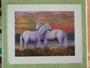 Peinture : chevaux