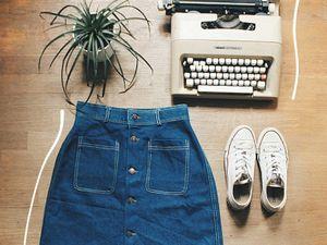 Les jupes boutonnées
