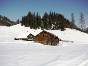 Le secteur de Gnadenalm (Gnaden=pitié, Alm=alpage) dedié au ski de fond et à la promenade