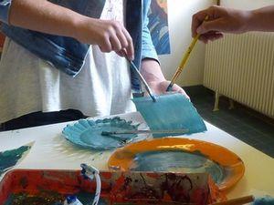Essais de couleur pour &quot&#x3B;Amont-Aval&quot&#x3B;