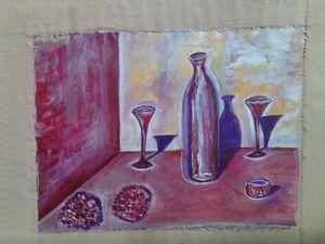 Peinture à l'huile - MoaW