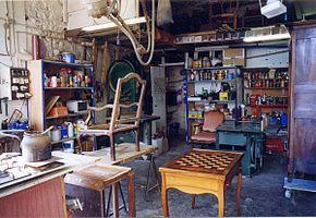 La restauration de mobilier